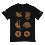 BFM BLACK MUAY THAI TEE