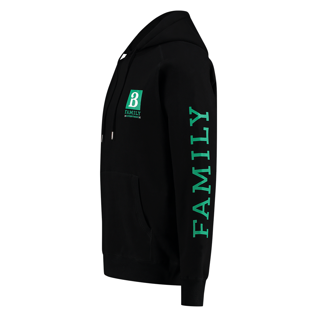 !SALE! BARONG FAMILY BLACK AND GREEN HOODIE