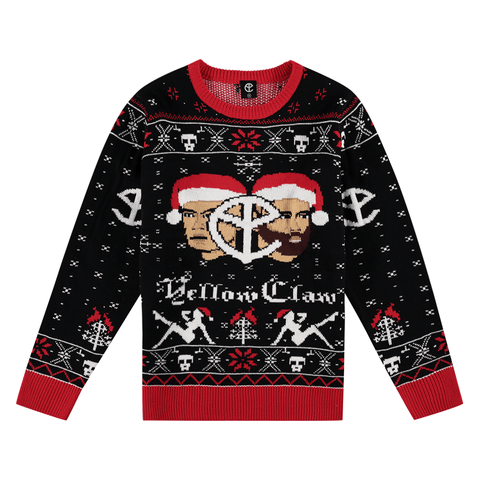 YELLOW CLAW CHRISTMAS SWEATER