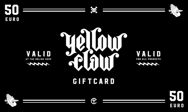 YELLOW CLAW GIFT CARD