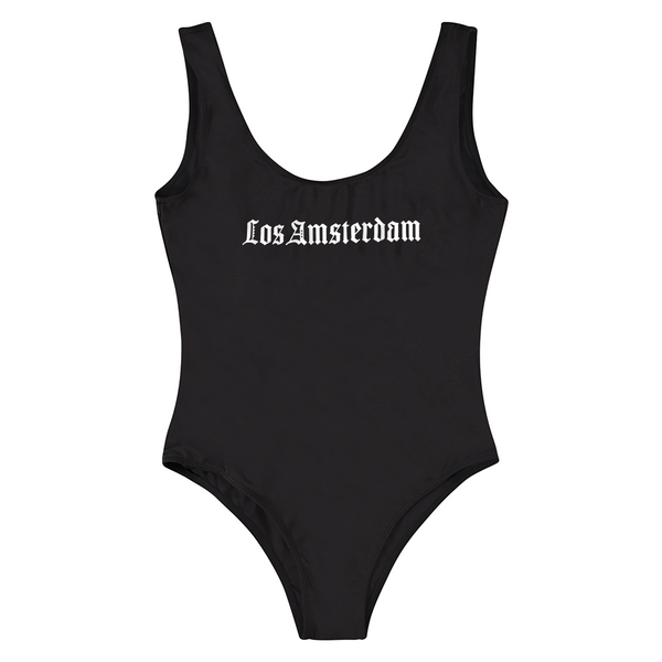 LOS AMSTERDAM BLACK BATHING SUIT