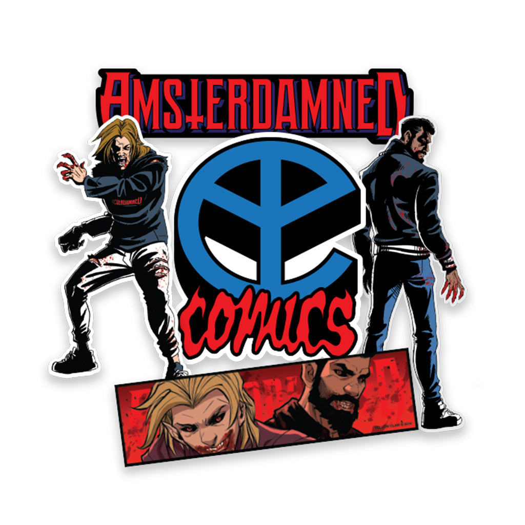 AMSTERDAMNED STICKER PACK