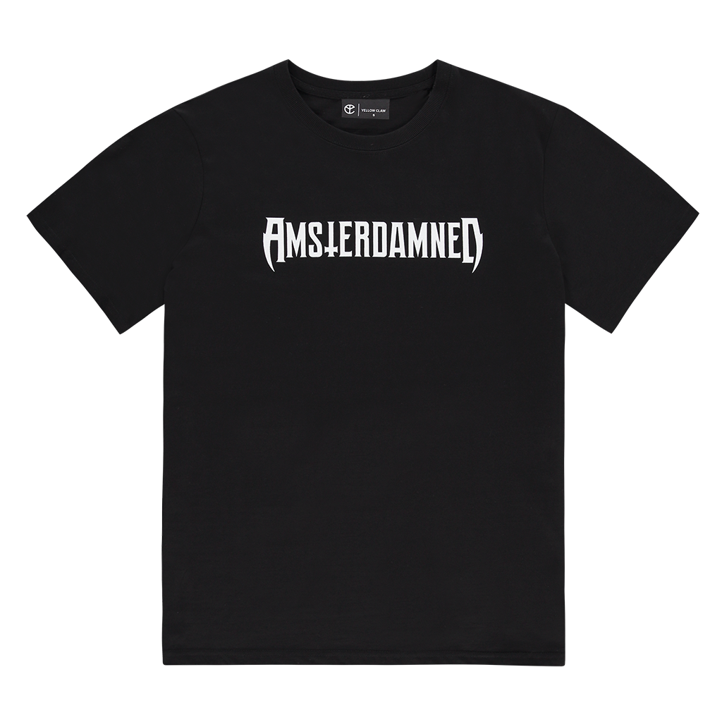AMSTERDAMNED LOGO TEE