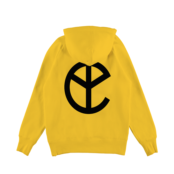 NEW BLOOD YELLOW LOGO HOODIE