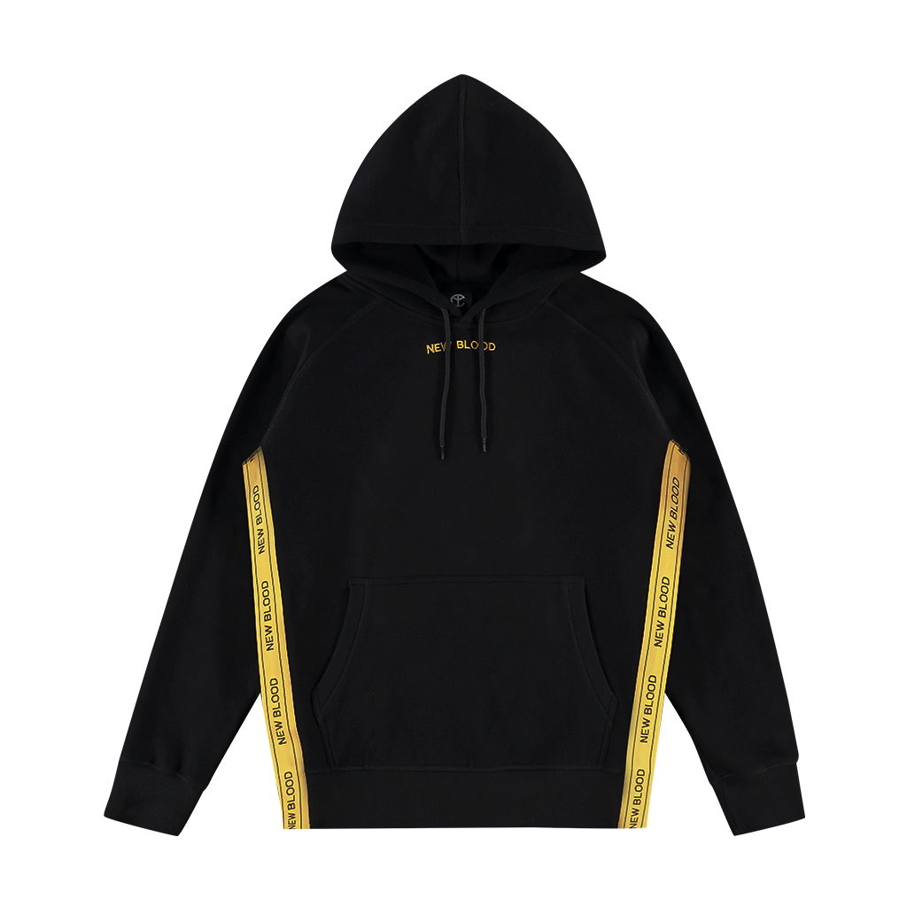 NEW BLOOD TAPED LOGO HOODIE