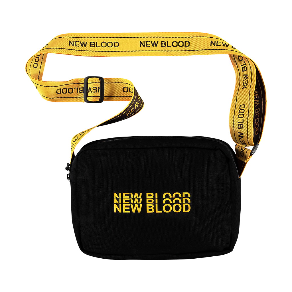 NEW BLOOD TRIPLE LOGO WAISTBAG