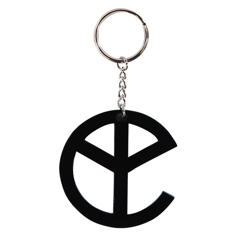 YELLOW CLAW METAL KEYCHAIN