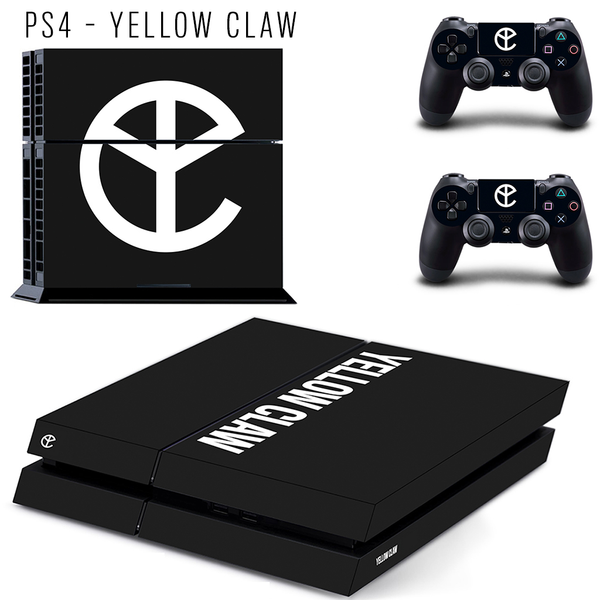 YELLOW CLAW CONSOLE SKIN