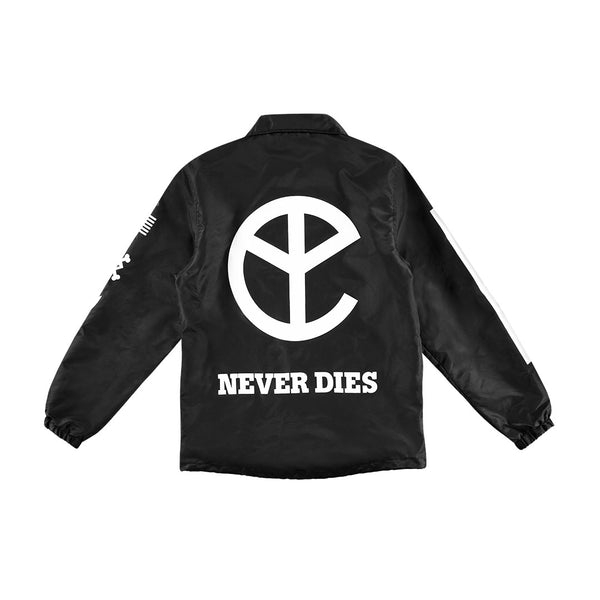 THAT YELLOW CLAW NEVER DIES COACH JACKET