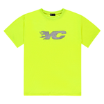 NEVER DIES NEON YELLOW YC TEE