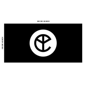 YELLOW CLAW FESTIVAL FLAG