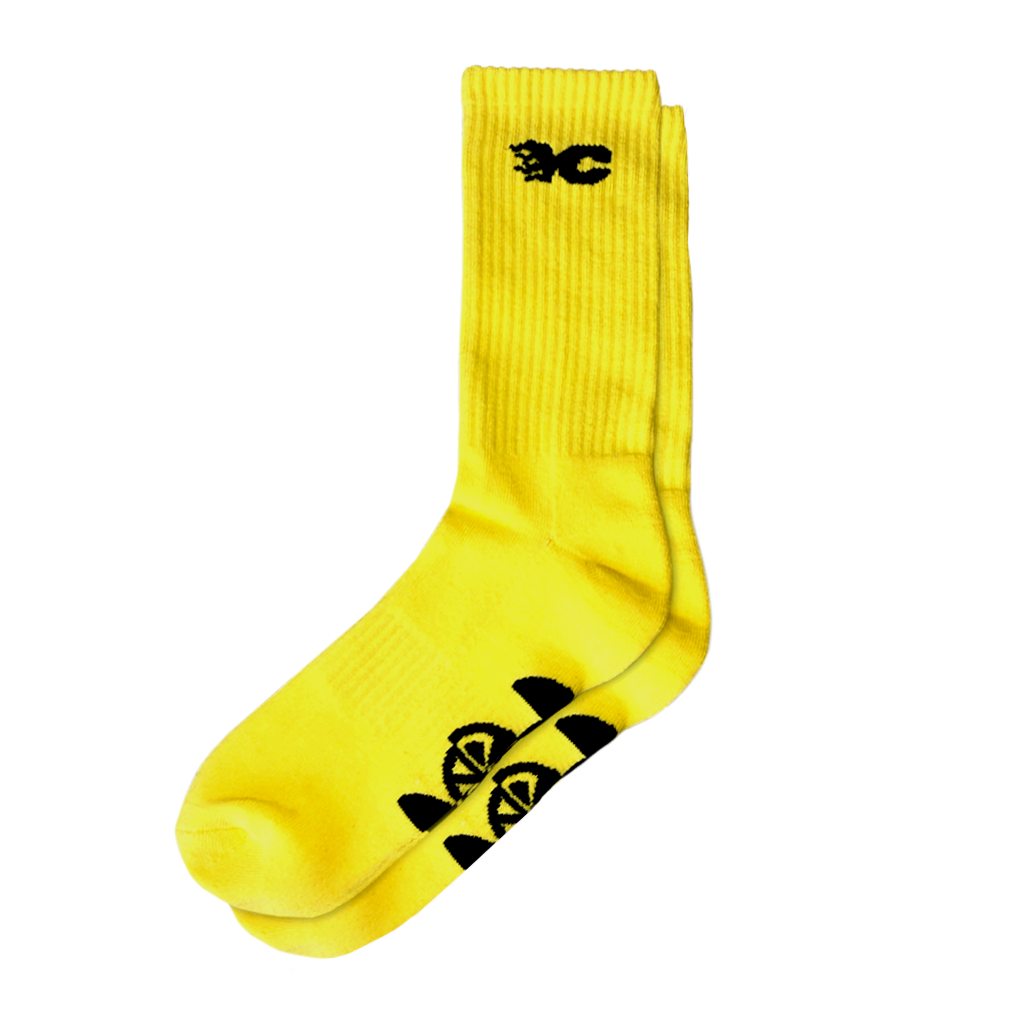 YELLOW CLAW YELLOW SOCKS