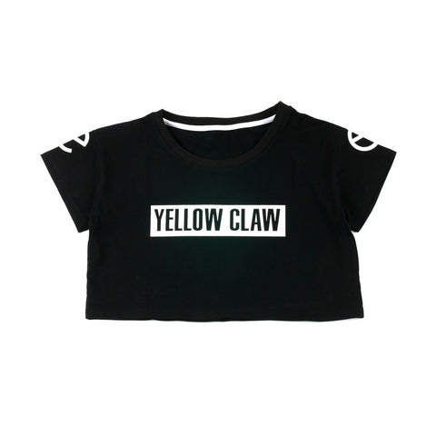 YELLOW CLAW CROPTOP BOXLOGO