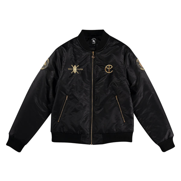 BFM BLACK GOLD BOMBER JACKET