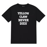 YELLOW CLAW NEVER DIES TEE