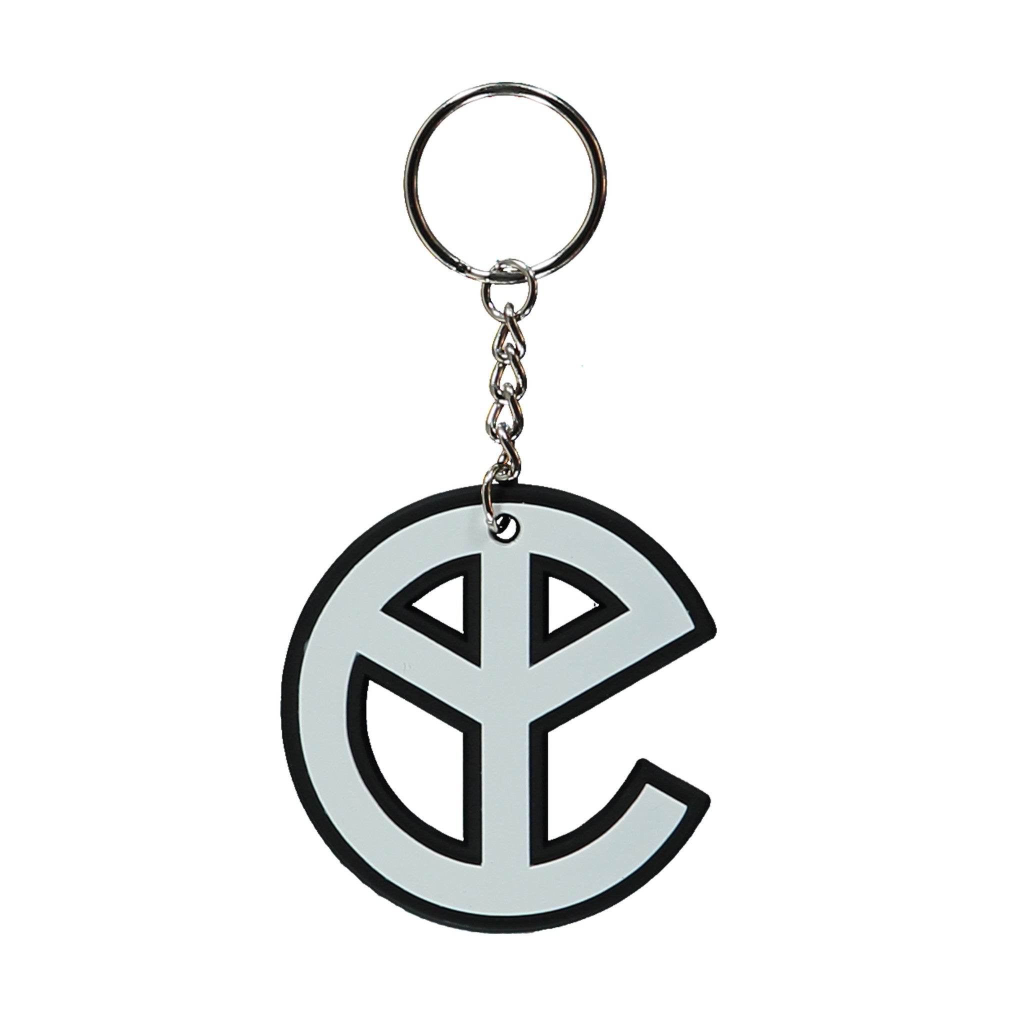 YELLOW CLAW RUBBER KEYCHAIN
