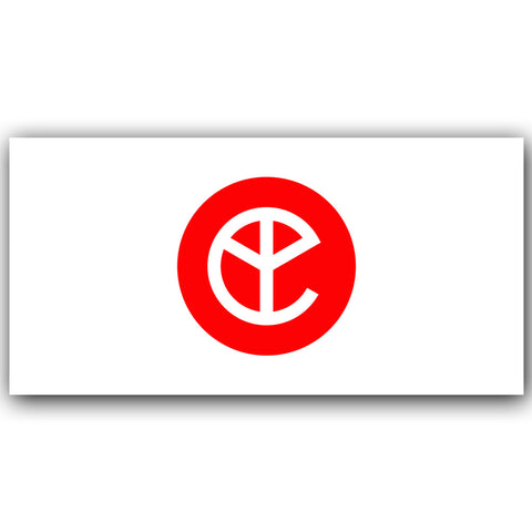 YELLOW CLAW X HINOMARU FLAG
