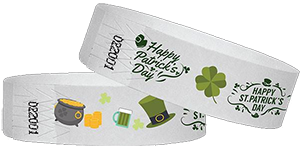 Wristbands for Saint Patrick's Day