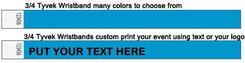 Custom Printable Wristbands