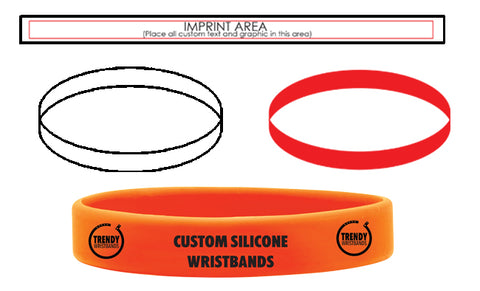 Printing on Silicone Wristbands