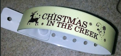 Custom Printed Vinyl Wristbands
