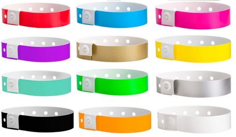 Plastic Wristbands for Sale