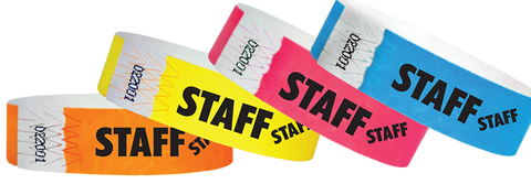 Staff Wristbands