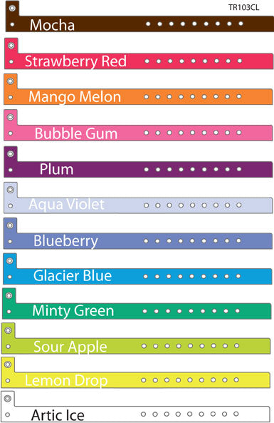 Color Options for Wristbands