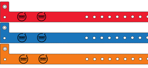 Vinyl Wristbands With Custom print