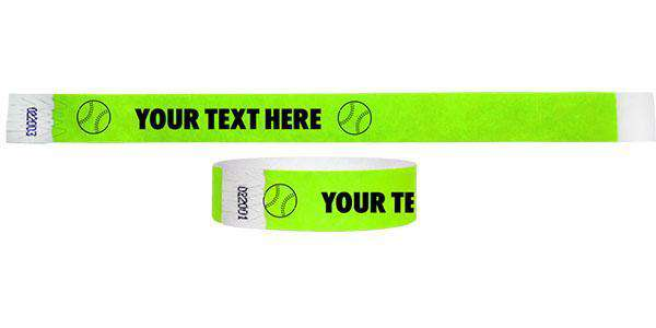 3/4 Baseball Wristbands