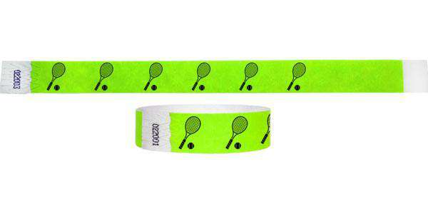 3/4 Tennis Racket Wristbands