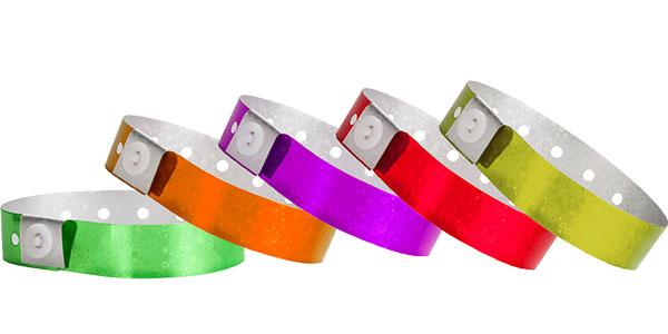 Flashy Hologram Wristbands