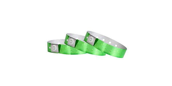 Green Hologram Wristbands