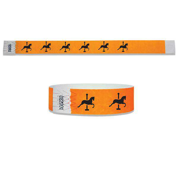 3/4 Merry Go Round Wristbands
