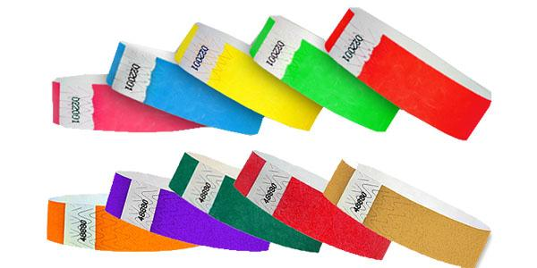 Multi Pack Wristbands Solid Colors