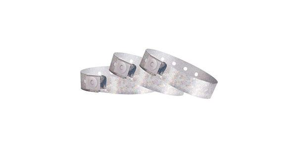 Silver Hologram Wristbands