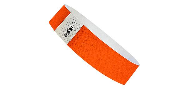 3/4 Standard Wristband Pumpkin Orange On Sale