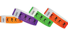 3/4 Tyvek Wristband Halloween/Zombies