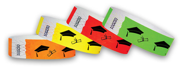 3/4 Cap & Diploma Wristbands