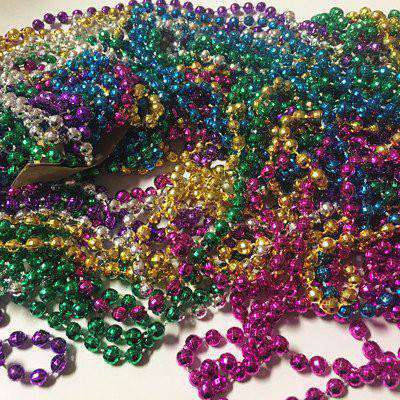Mardi Gras Beads - TrendyWristbands