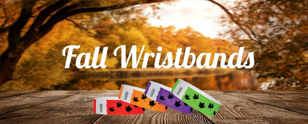 Fall Wristbands