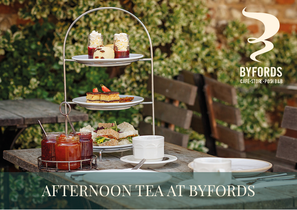 Afternoon Tea at Byfords