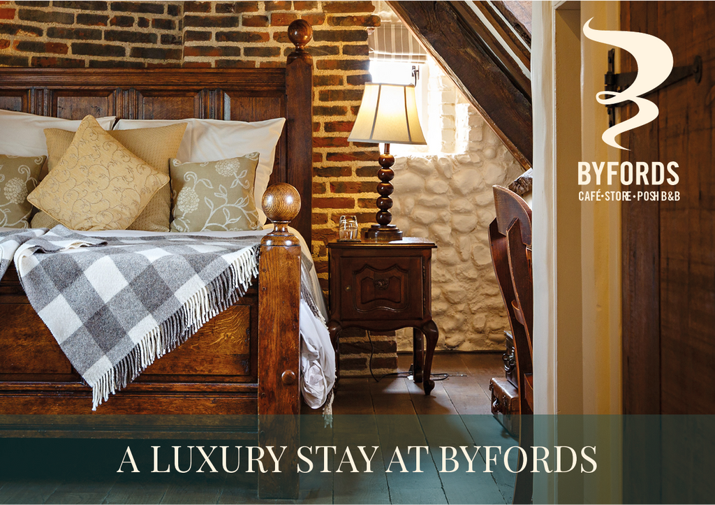Wow! A luxury stay at Byfords