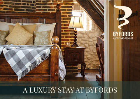 A luxury stay at Byfords