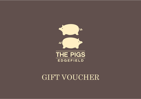 The Pigs gift voucher