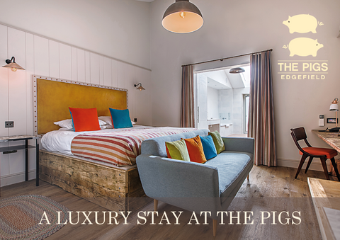 A luxury stay at The Pigs