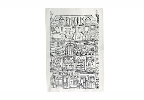 Byfords Tea Towel
