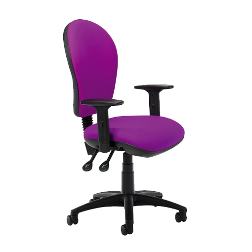 Purple Office Chair With Arms Flash Furniture Purple Mesh