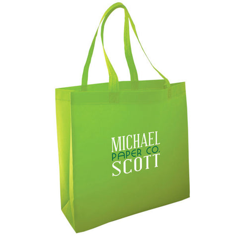 Custom Printed Non Woven Tote Bags (BEST VALUE)