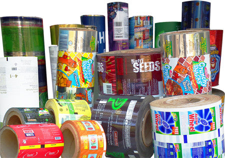 Custom Roll Stock Packaging Film